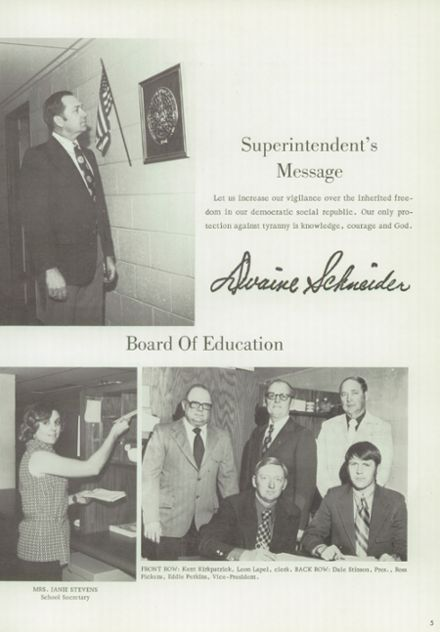 1976 Thomas High School Yearbook Page 9