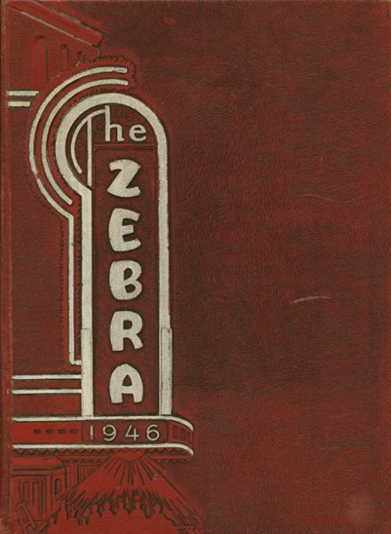 1946 Pine Bluff High School Yearbook Cover