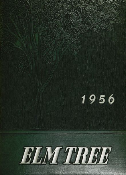 1956 Hillhouse High School Yearbook Cover
