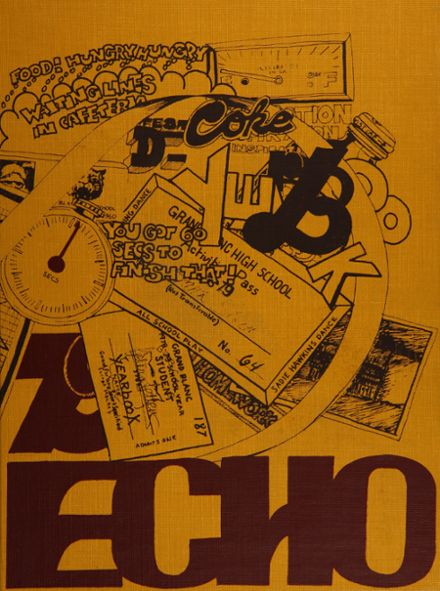 1979 Grand Blanc High School Yearbook Cover