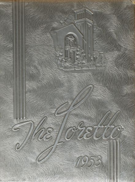 1953 Loretto Academy Yearbook Cover