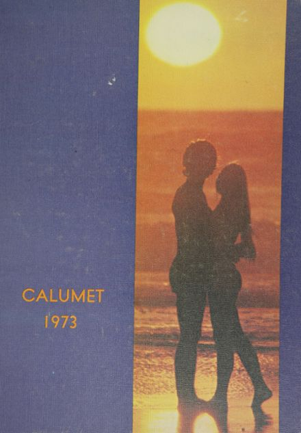 1973 Clairemont High School Yearbook Cover