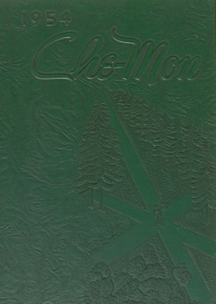 1954 Point Marion High School Yearbook Cover