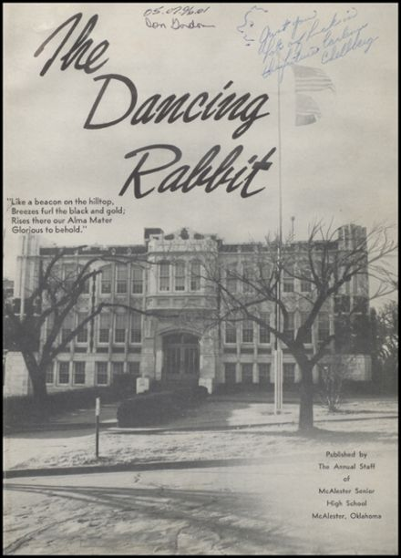 1956 McAlester High School Yearbook Page 5