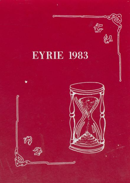 1983 Tolland High School Yearbook Cover