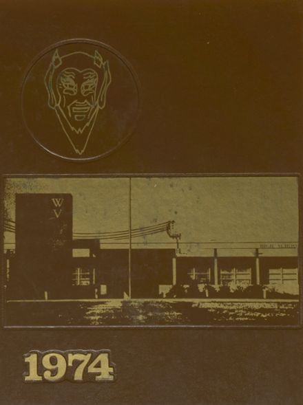 1974 Water Valley High School Yearbook Cover