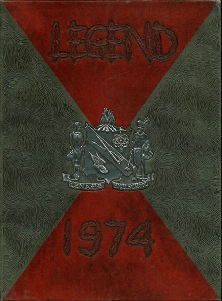 1974 Lenape High School Yearbook Cover