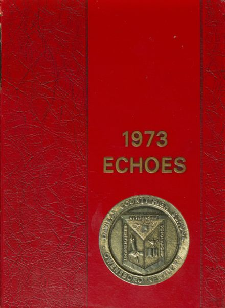 1973 Daviess County High School Yearbook Cover