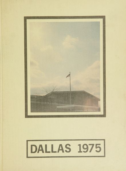 1975 Dallas High School Yearbook Cover