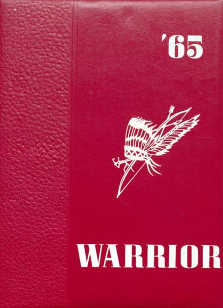 1965 Ohatchee High School Yearbook Cover