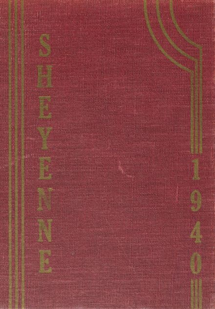 1940 Valley City High School Yearbook Cover