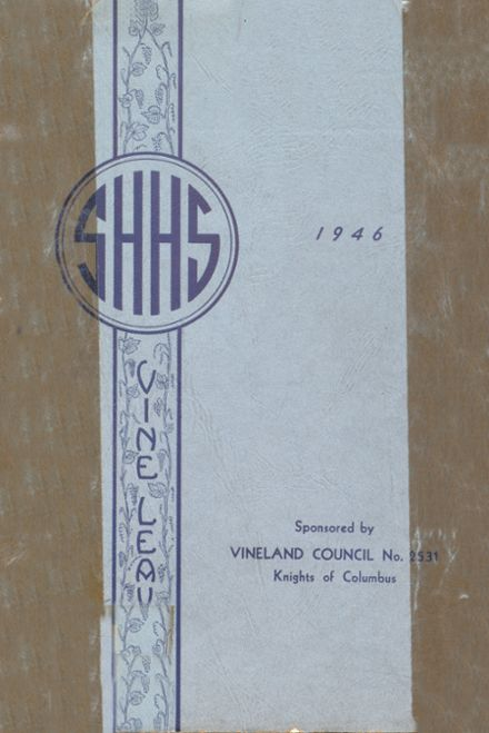 1946 Sacred Heart High School Yearbook Cover