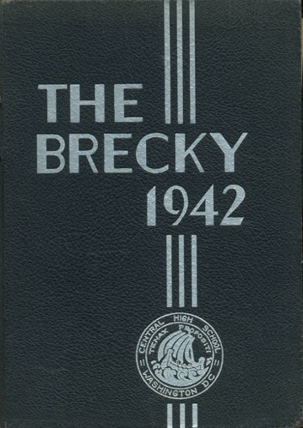 1942 Central High School Yearbook Cover