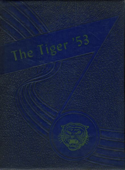 1953 Crystal Springs Consolidated High School Yearbook Cover