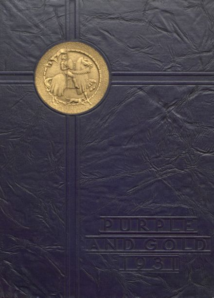 1931 South Haven L.C. Mohr High School Yearbook Cover