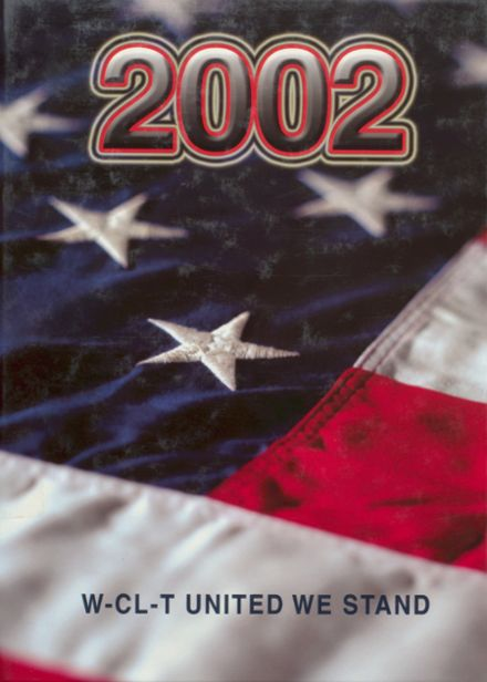 2002 Woden-Crystal Lake Community High School Yearbook Cover