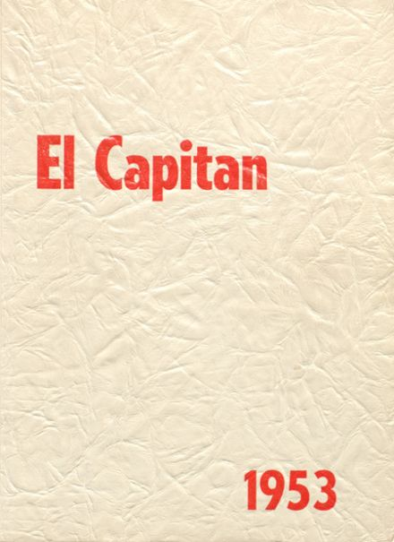 1953 Darby High School Yearbook Cover