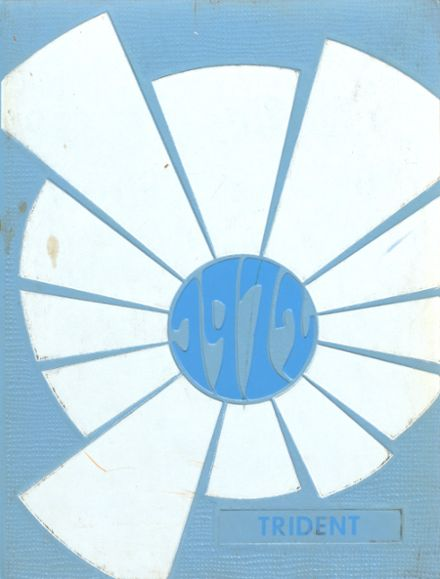 1972 Brewer High School Yearbook Cover