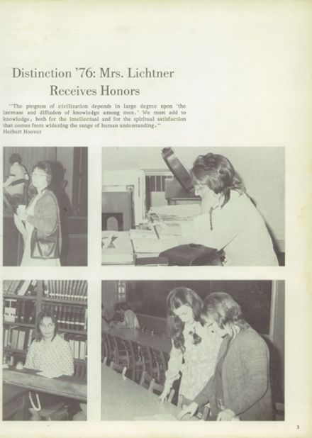 1976 Philo High School Yearbook Page 7