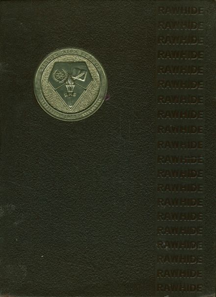 1968 Rincon High School Yearbook Cover