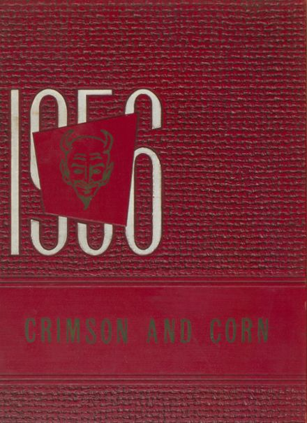 1956 Murphysboro High School Yearbook Cover