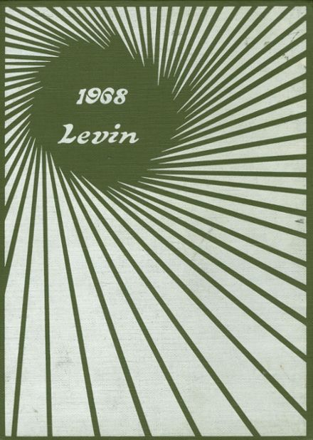 1968 Champion High School Yearbook Cover