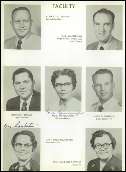 1955 Moran High School Yearbook Page 8