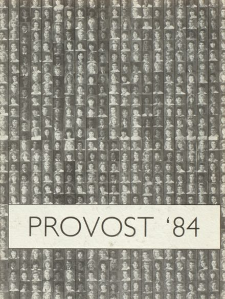 1984 Provo High School Yearbook Cover