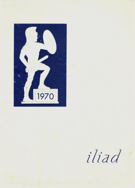 1970 Waverly High School Yearbook Cover