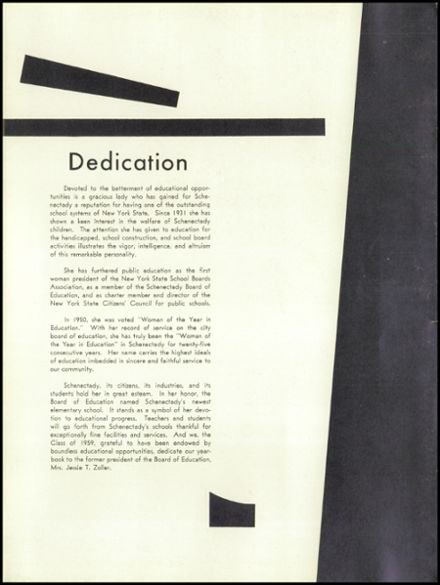 1959 Mt. Pleasant High School Yearbook Page 7