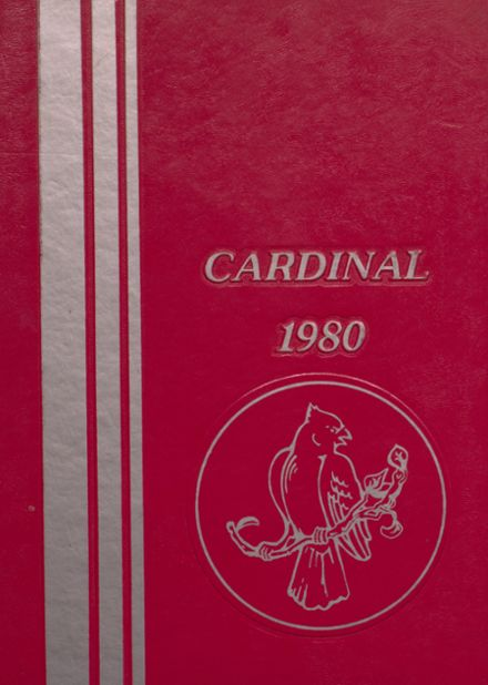 1980 Taylor County High School Yearbook Cover