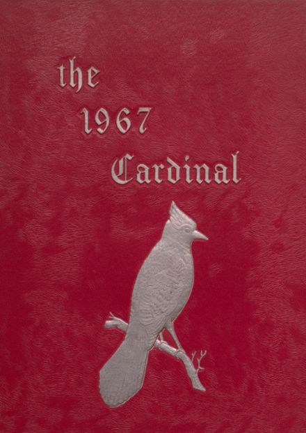 1967 Taylor County High School Yearbook Cover