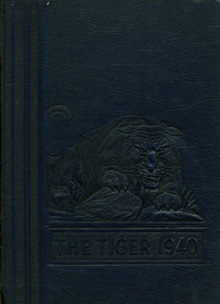 1940 South Norfolk High School Yearbook Cover