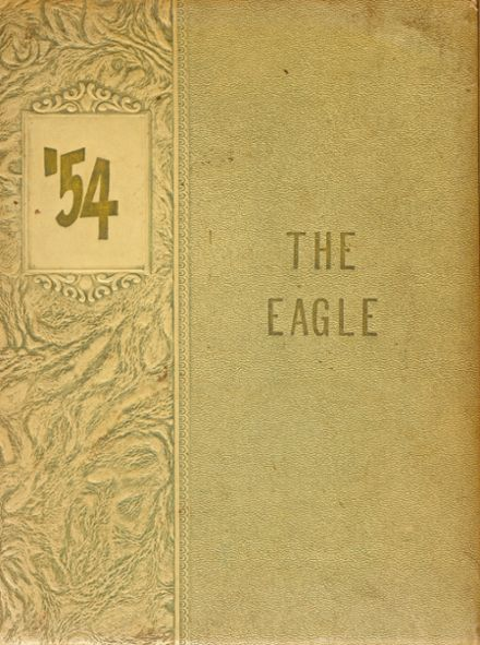 1954 Eagle Point High School Yearbook Cover