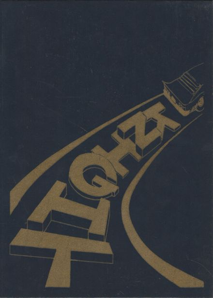 1979 Notre Dame Catholic School Yearbook Cover