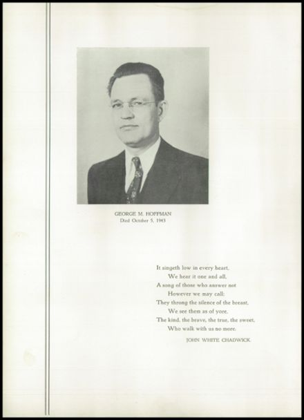 1944 West Philadelphia High School Yearbook Page 8