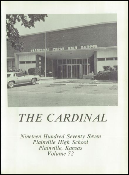 1977 Plainville High School Yearbook Page 5