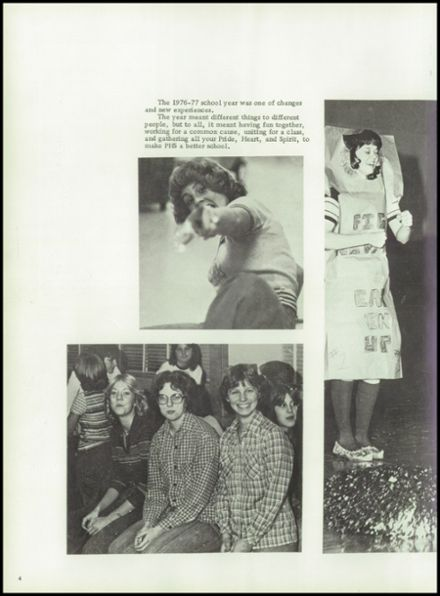 1977 Plainville High School Yearbook Page 8