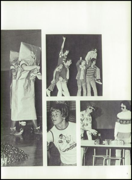1977 Plainville High School Yearbook Page 9
