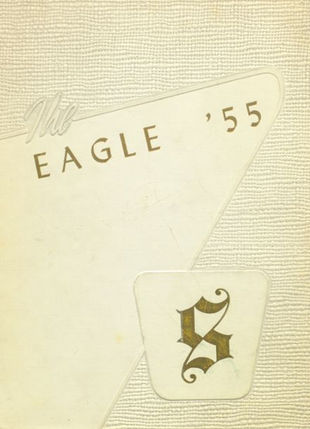 1955 Stratton High School Yearbook Cover