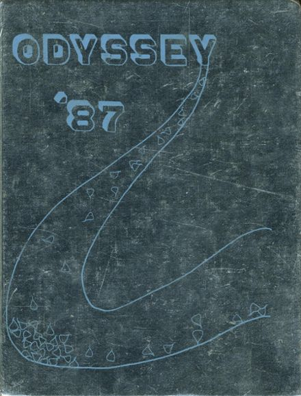 1987 Parkville High School Yearbook Cover