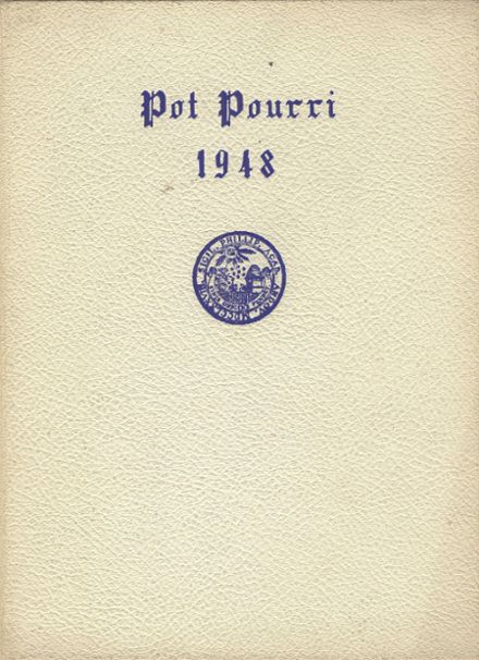 1948 Phillips Academy Yearbook Cover