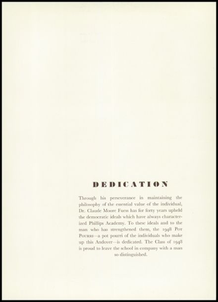 1948 Phillips Academy Yearbook Page 9