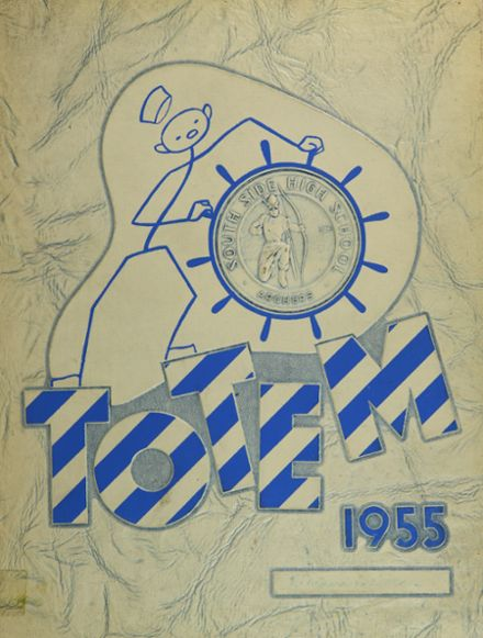 1955 South Side High School Yearbook Cover