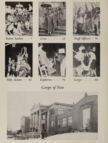 1955 South Side High School Yearbook Page 8