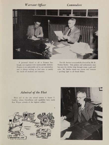 1955 South Side High School Yearbook Page 9