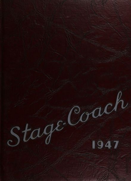 1947 Rye High School Yearbook Cover