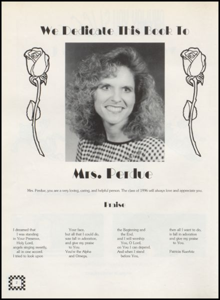 1996 Wellston High School Yearbook Page 6