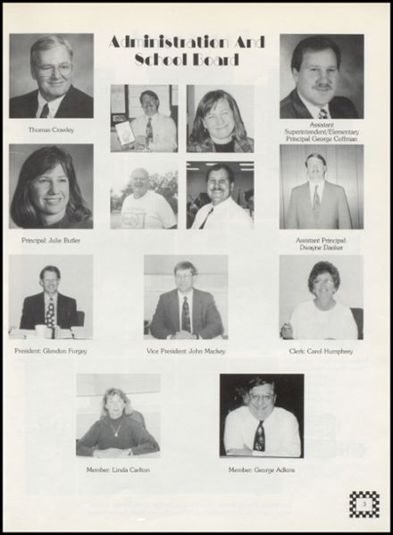 1996 Wellston High School Yearbook Page 7