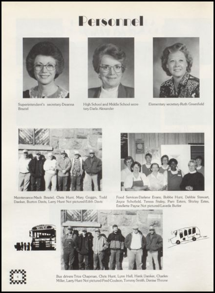 1996 Wellston High School Yearbook Page 8